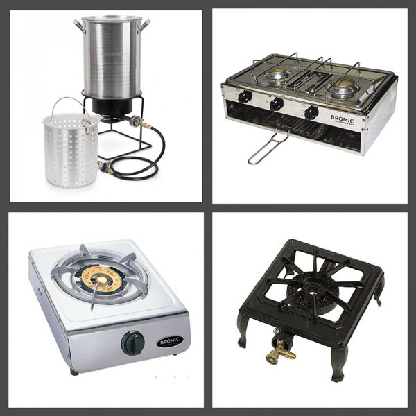 Gas Burners and Cookers