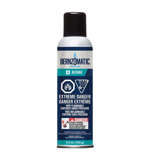 Bernzomatic Butane Fuel Cylinder
