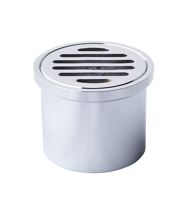 Floor grate round leak control
