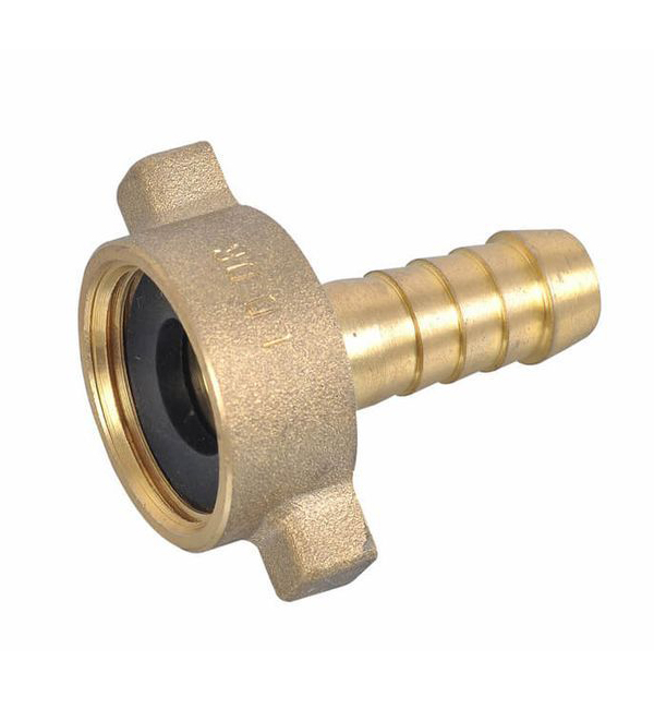 SCREWED BRASSWARE - HOSE NUT AND TAIL