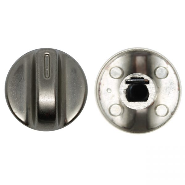 kg1060 knob chrome round 30mm diameter 8mm x 6