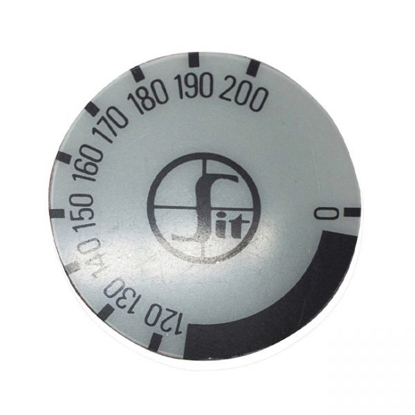 kg1090 - decal minisit knob 120 -200 degree