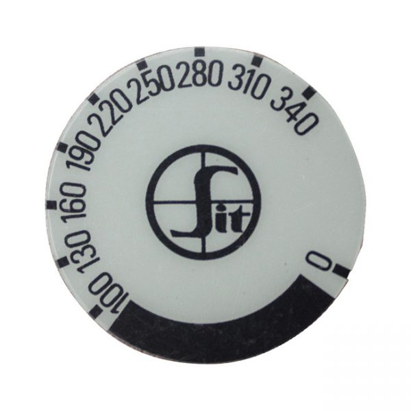 kg1095 - Decal minisit knob 100-340 degree