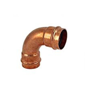 Copper Press Gas - 90 Bend F & F