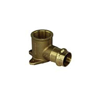 Copper Press Gas - 15 BP Elbow