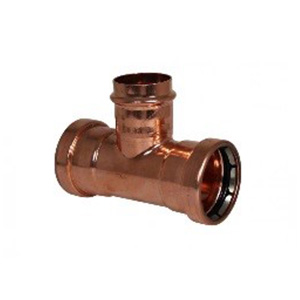 Copper Press Gas - Reducing Tee