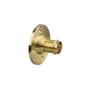 Copper Press Gas - Brass Flange Adaptor
