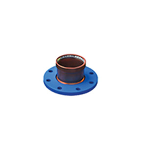 Copper Press Gas - Copper Flange Adaptor