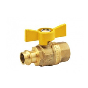 Press Fit Butterfly Gas Ball Valve