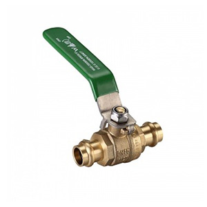 Press Fit Lever Water Ball Valve