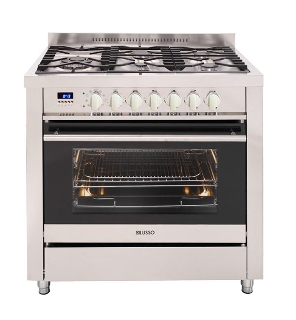 Di Lusso Freestanding Cooker 900mm Dual Fuel
