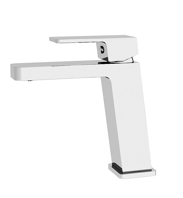 Celia Angle Basin Mixer Chrome
