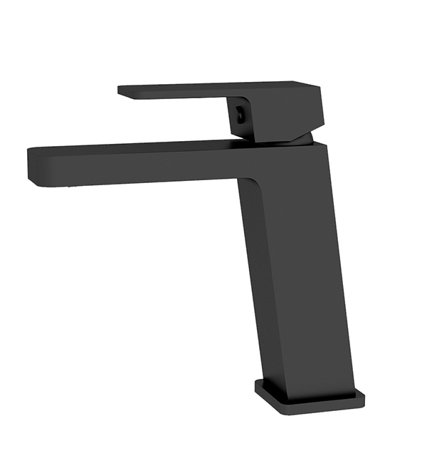 Celia Basin Mixer Angle Spout Matte Black