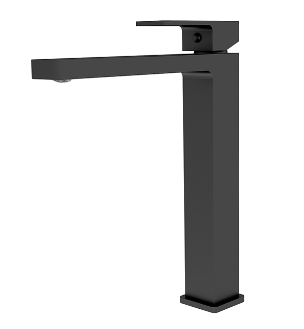 Celia Tall Basin Mixer Matte Black