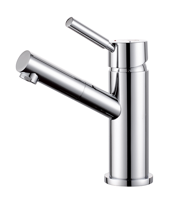 Dolce Basin Mixer Angle Spout