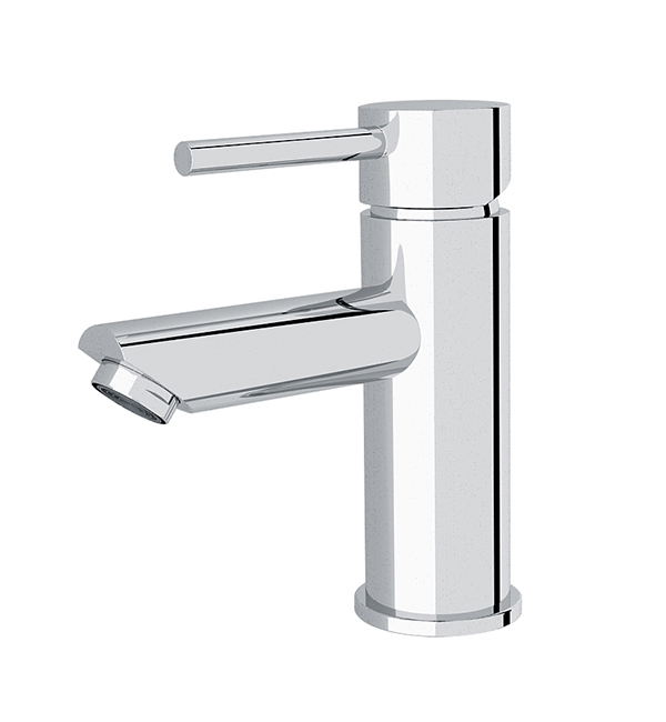 Dolce Basin Mier Straight Spout Chrome