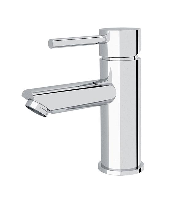 Dolce Basin Mier Straight Spout Chrome