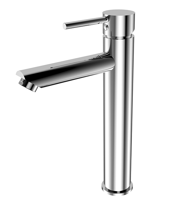 Dolce Tall Basin Mixer Straight Spout