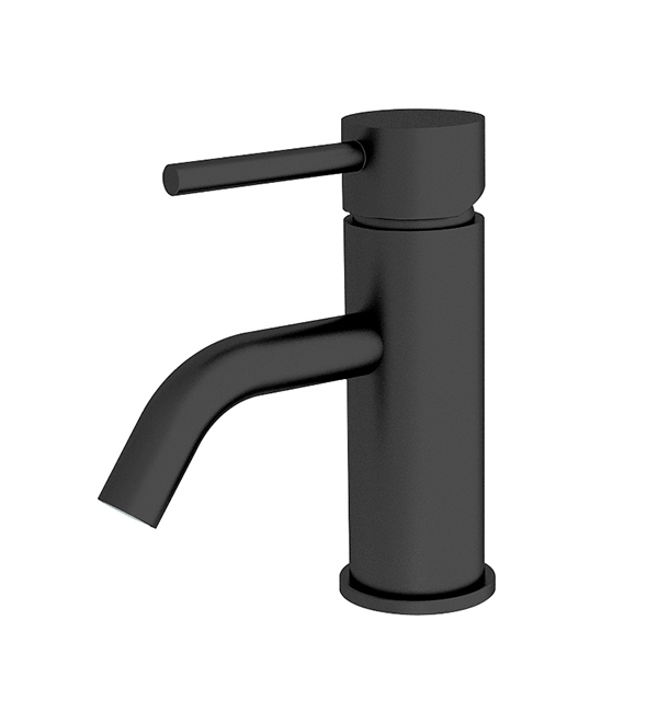 Dolce Basin MIxer Stylish Spout Matte Black