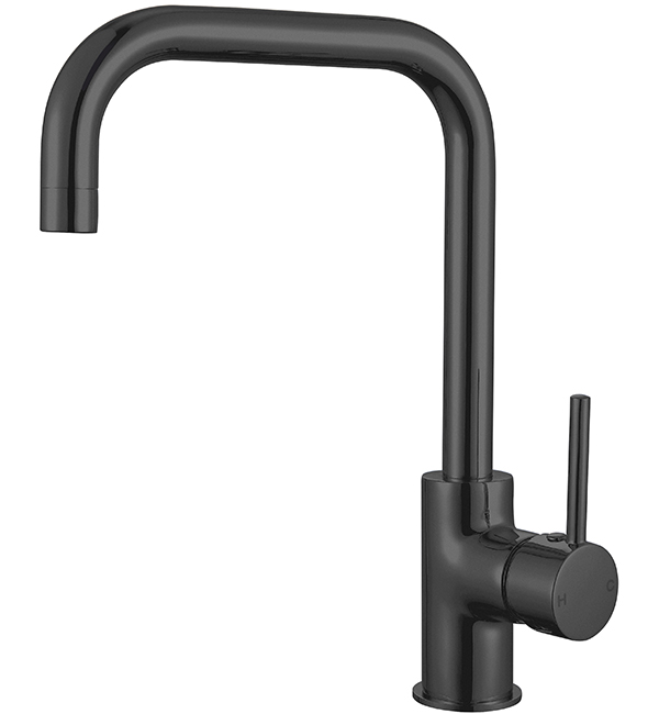 Dolce Kitchen Mixer Square Matte Black