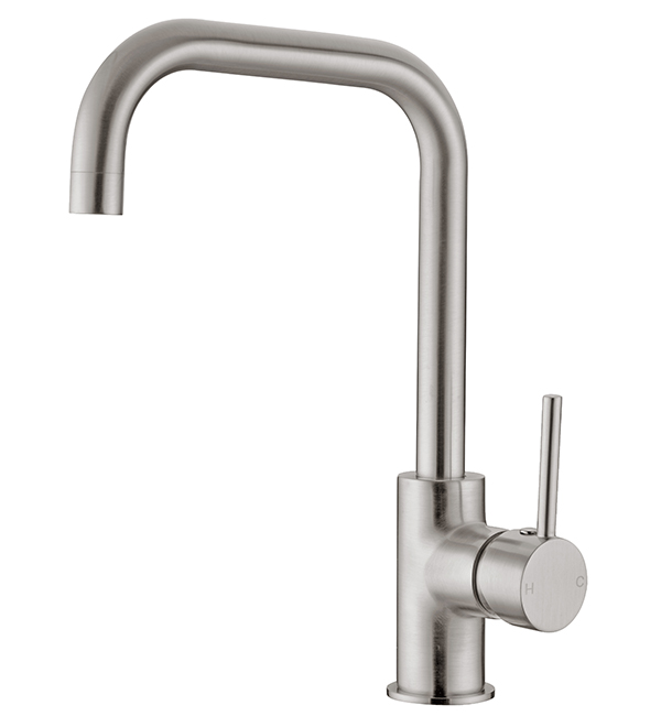 Dolce Kitchen Mixer Square Brushed Nickel