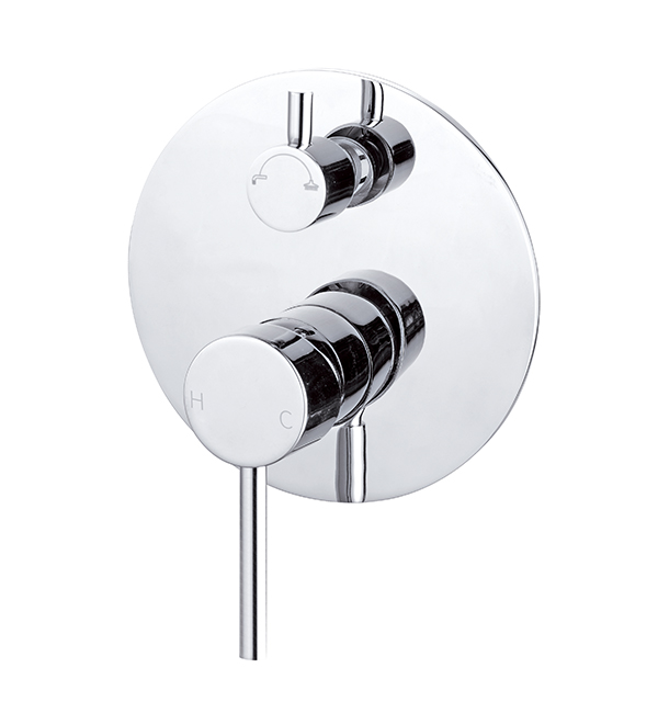 Dolce Shower Diverter Mixer Chrome