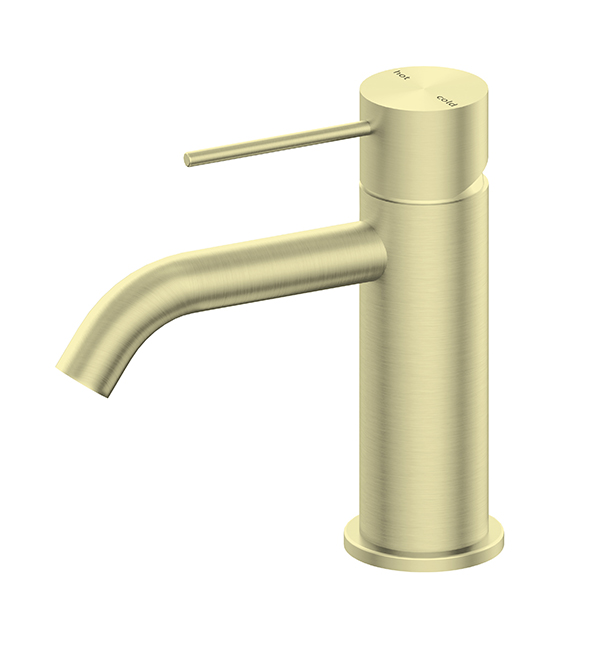 Mecca Basin Mixer Brushed Gold