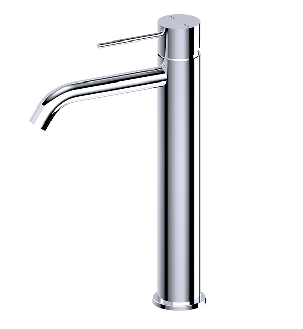 Mecca Tall Basin Mixer Chrome