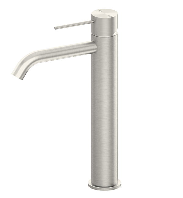 Mecca Tall Basin MIxer Brushed Nickel