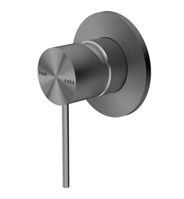 Mecca Shower Mixer Gun Metal Grey