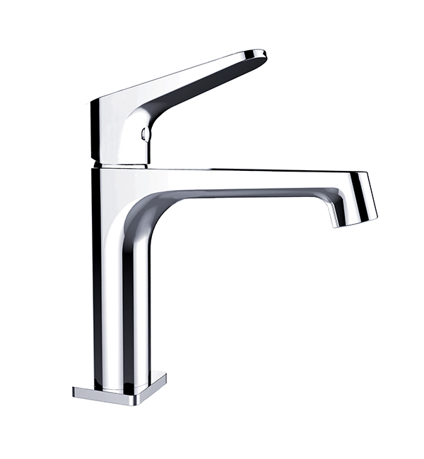 Victor Basin Mixer Chrome