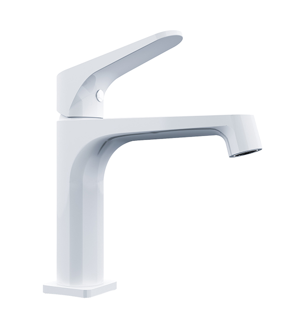 Victor Basin Mixer White