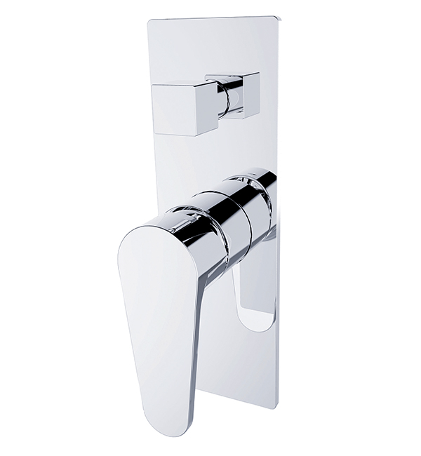 Victor Shower Diverter Mixer Chrome