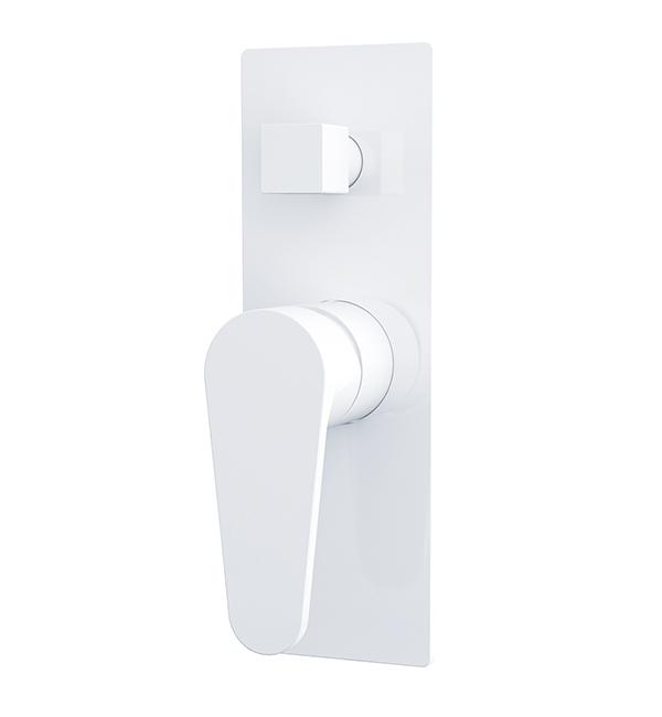 Victor Shower Diverter Mixer White