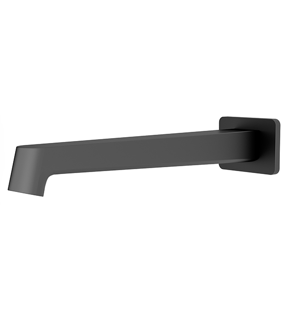 Victor Bath Spout Matt Black