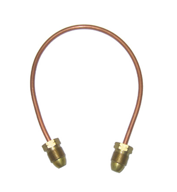 Pigtail copper 1/4 3/8 tube pol
