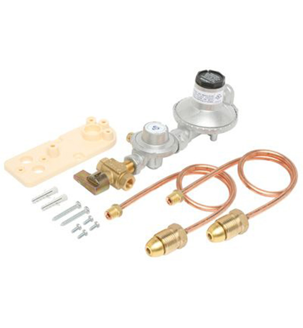Regulator LPG Dual Cylinder Manual C/Over 250Mj