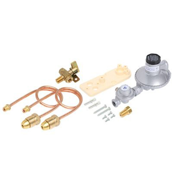 Regulator LPG Dual Cylinder Installation Kit Manual Changeover
