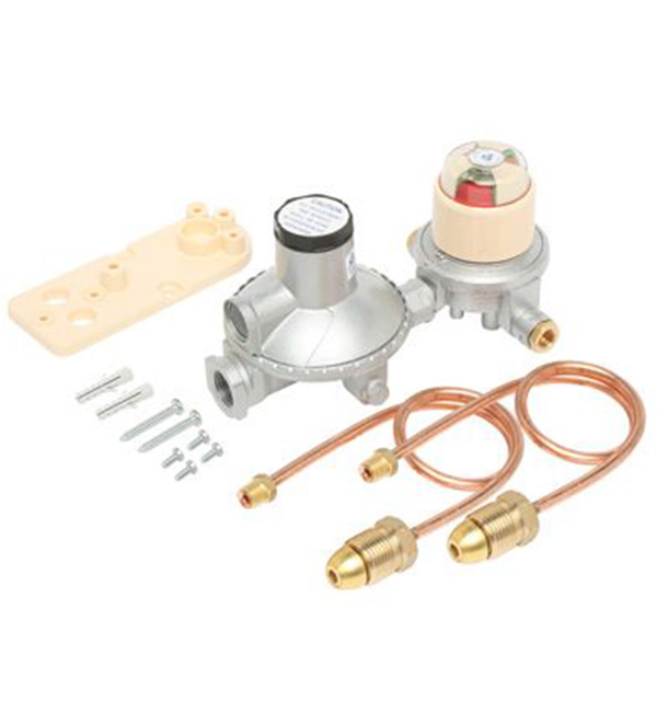 Regulator LPG Dual Cylinder Installation Kit Auto C/Over 400Mj
