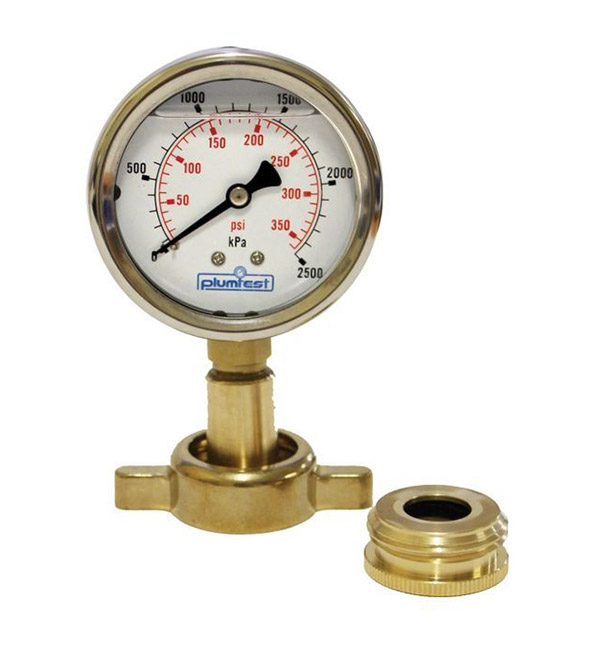 Plumbtest Water Pressure gauge